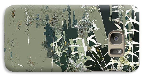Galaxy Case featuring the digital art Primordial Verdure by Bob Salo