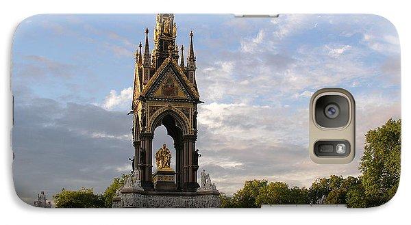 Galaxy Case featuring the photograph Prince Albert Memorial by Bev Conover