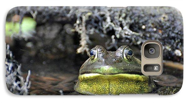 Galaxy Case featuring the photograph Bullfrog by Glenn Gordon