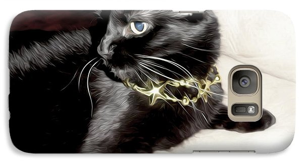 Galaxy Case featuring the photograph Princess Lucy by Pennie  McCracken