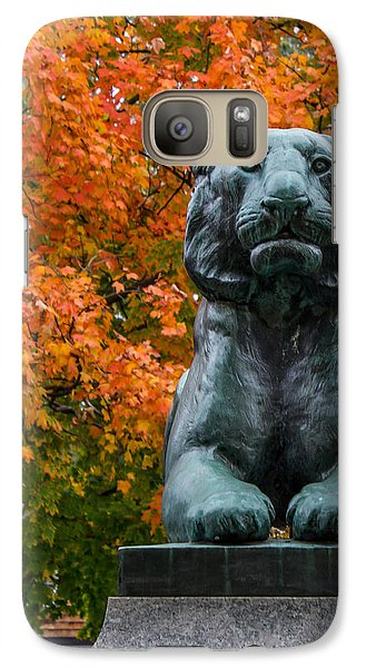 Galaxy Case featuring the photograph Princeton Panther by Glenn DiPaola