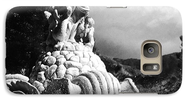 Galaxy Case featuring the photograph Princeville Black And White by Alohi Fujimoto