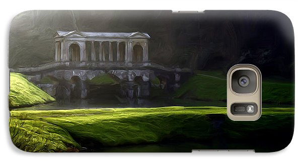 Galaxy Case featuring the digital art Prior Park Bath by Ron Harpham