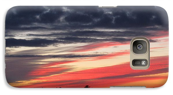 Galaxy Case featuring the photograph Prism At Sunset by Joetta Beauford
