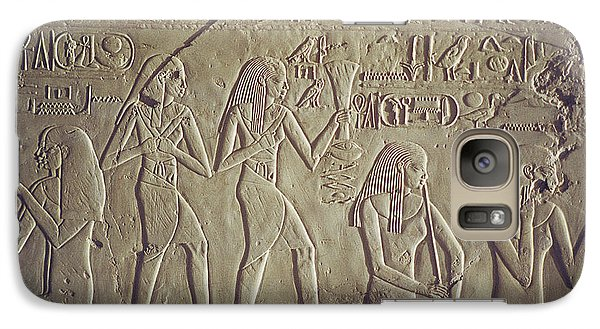 Galaxy Case featuring the photograph Private Tomb Of Kheruef Kheruf Cheriuf Tt 192 Asasif-stock Image-fine Art Print-valley Of The Kings by Urft Valley Art