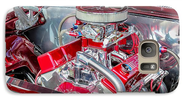 Galaxy Case featuring the photograph Pro Street Hot Rod Engine  by Trace Kittrell
