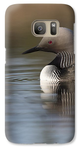Profile Of A Pacific Loon Galaxy S7 Case by Tim Grams