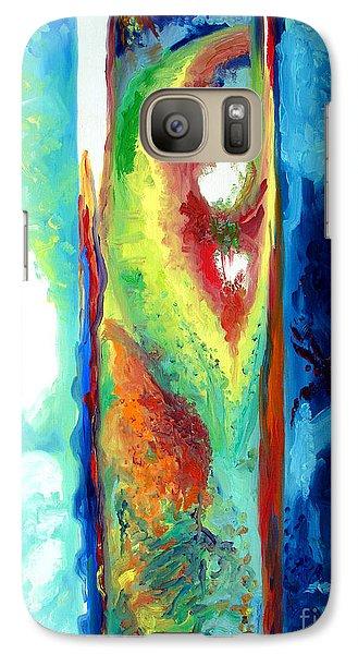 Galaxy Case featuring the painting Progress II by Daniel Janda
