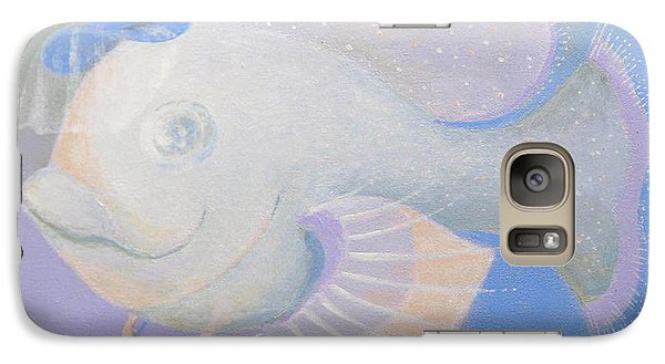 Galaxy Case featuring the painting Promenade by Marina Gnetetsky
