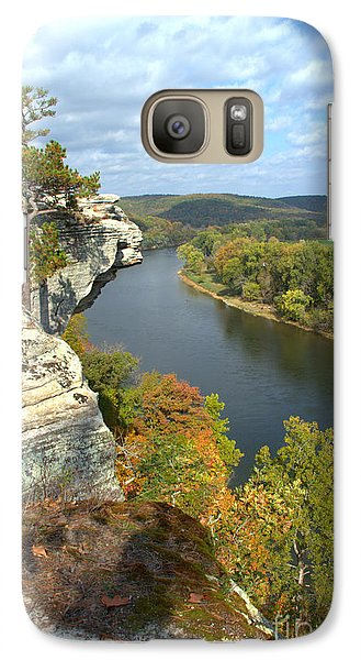 Galaxy Case featuring the photograph Promontory Point by Jim McCain