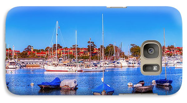 Galaxy Case featuring the photograph Promontory Point - Newport Beach by Jim Carrell