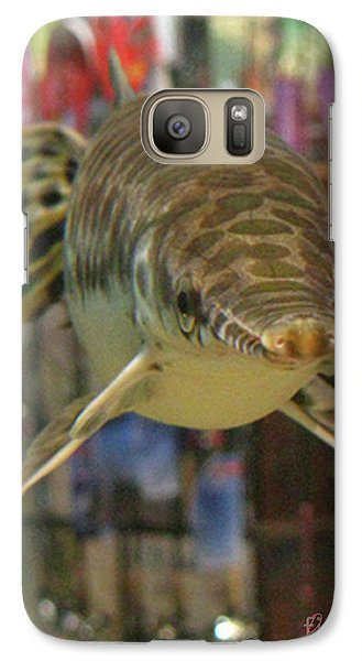 Galaxy Case featuring the photograph Protected Gar by Donna Brown