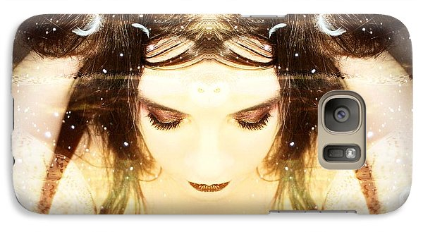Galaxy Case featuring the photograph Protected Within by Heather King