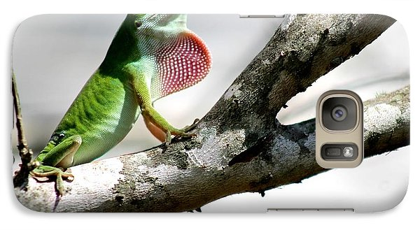 Galaxy Case featuring the photograph Proud To Be Green by Jeanne Kay Juhos