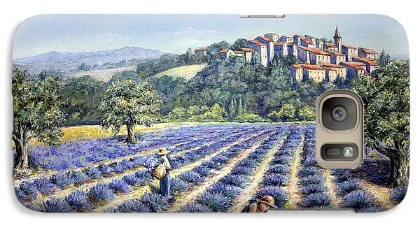 Galaxy Case featuring the painting Provencal Harvest by Rosemary Colyer