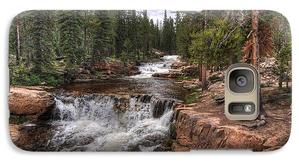 Galaxy Case featuring the photograph Provo River Falls by Jeremy Farnsworth