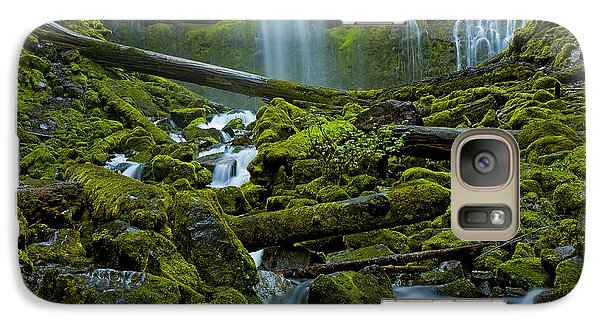 Galaxy Case featuring the photograph Proxy Falls by Nick  Boren