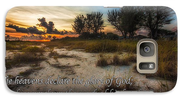 Galaxy Case featuring the photograph Psalm 19 by Joshua Minso