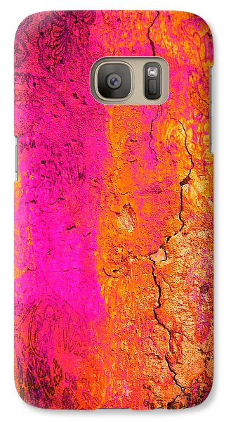 Galaxy Case featuring the digital art Psychedelic Flashback - Late 1960s by Absinthe Art By Michelle LeAnn Scott