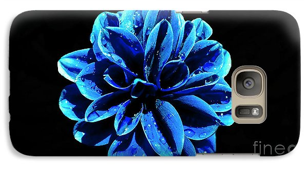 Galaxy Case featuring the photograph Psychedelic Flower 4 by Sarah Mullin