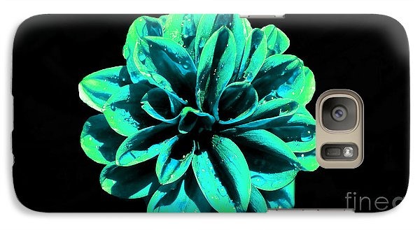 Galaxy Case featuring the photograph Psychedelic Flower 5 by Sarah Mullin