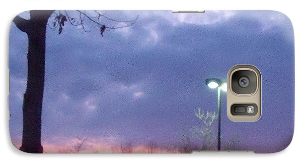 Galaxy Case featuring the photograph Psychedelic Sunset by Lyric Lucas