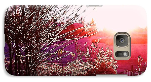 Galaxy Case featuring the photograph Psychedelic Winter   by Martin Howard
