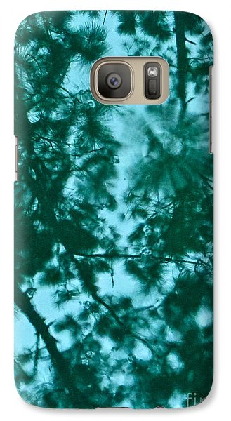Galaxy Case featuring the photograph Puddle Of Pines by Joy Hardee