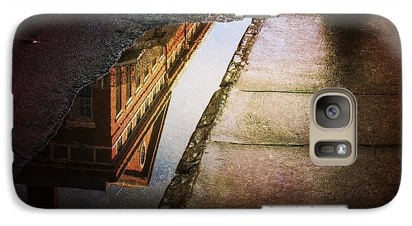 Galaxy Case featuring the photograph Puddles Of The Past by Heather Green