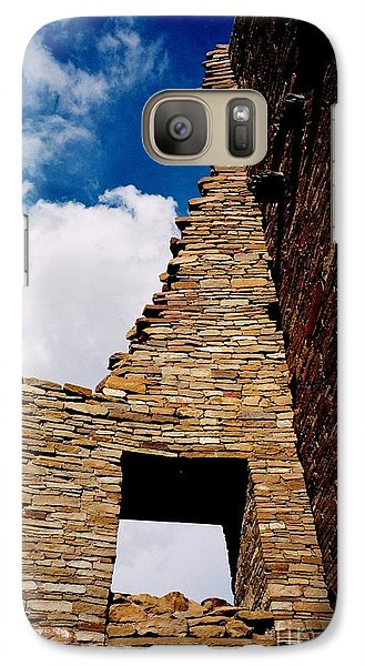 Galaxy Case featuring the photograph Pueblo Bonito New Mexico by Jacqueline M Lewis