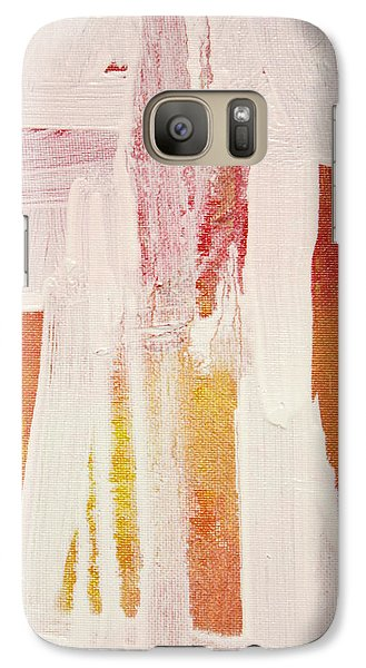 Galaxy Case featuring the painting Puertas 1  C2013 by Paul Ashby