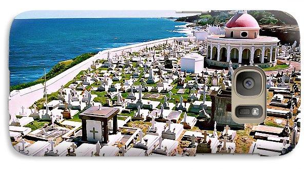 Galaxy Case featuring the digital art Puerto Rican Cemetery by Kara  Stewart