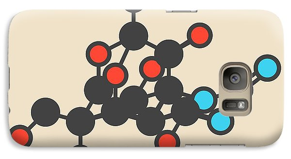 Pufferfish Neurotoxin Molecule Galaxy Case by Molekuul