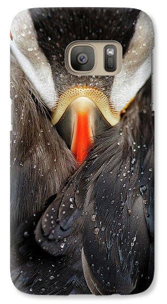 Puffin Galaxy S7 Case - Puffin Studio by Mario Su?rez