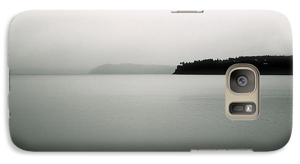 Galaxy Case featuring the photograph Puget Sound Blue by Kandy Hurley