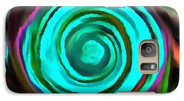 Galaxy Case featuring the digital art Pulled by Catherine Lott