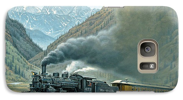 Transportation Galaxy S7 Case - Pulling For Silverton by Paul Krapf