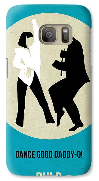 Pulp Fiction Poster 2 Galaxy S7 Case