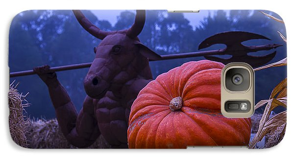 Pumpkin And Minotaur Galaxy S7 Case