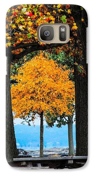 Galaxy Case featuring the photograph Pumpkin Head by Glenn Feron