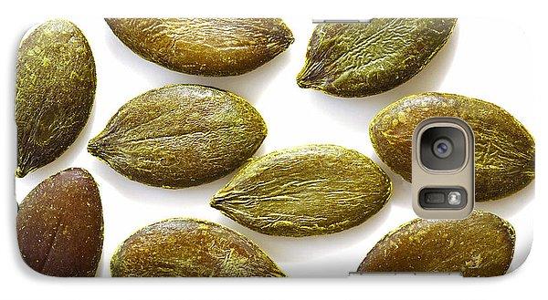 Galaxy Case featuring the photograph Pumpkin Seeds by Craig B