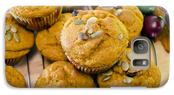 Galaxy Case featuring the photograph Pumpkin Spice Muffins For Fall by Maria Janicki
