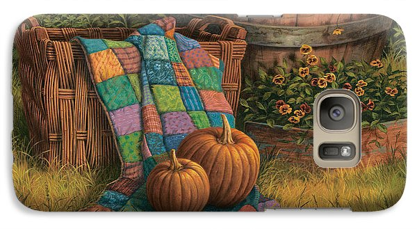 Pumpkins And Patches Galaxy S7 Case