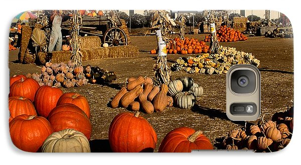 Galaxy Case featuring the photograph Pumpkins by Michael Gordon