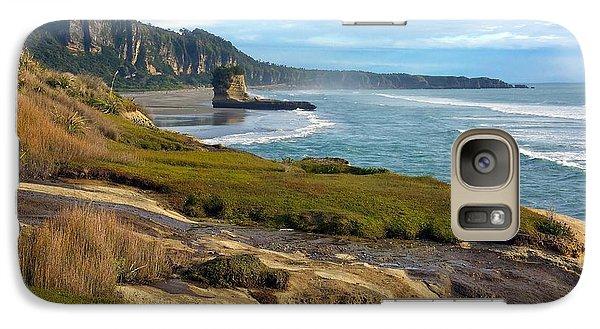 Galaxy Case featuring the photograph Punakaiki Truman Track by Stuart Litoff