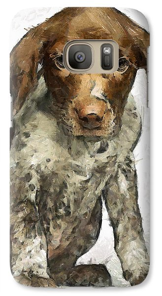 Galaxy Case featuring the painting Pupy by Georgi Dimitrov