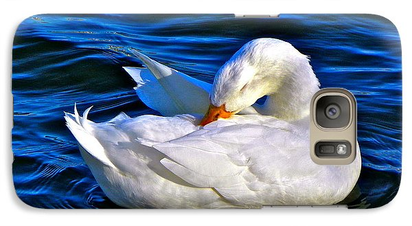 Galaxy Case featuring the photograph Pure Beauty by Eve Spring