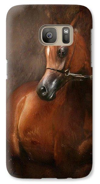 Galaxy Case featuring the digital art Pure Breed by Dorota Kudyba