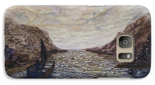 Galaxy Case featuring the painting Pure by Kevin F Heuman