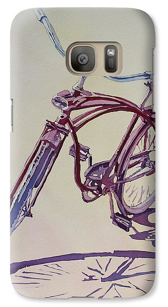 Bicycle Galaxy S7 Case - Pure Nostalgia  by Jenny Armitage